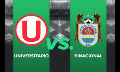 Apuestas Universitario vs Binacional.