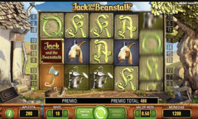 Jugar tragamonedas Jack and the Beanstalk: Habichuelas